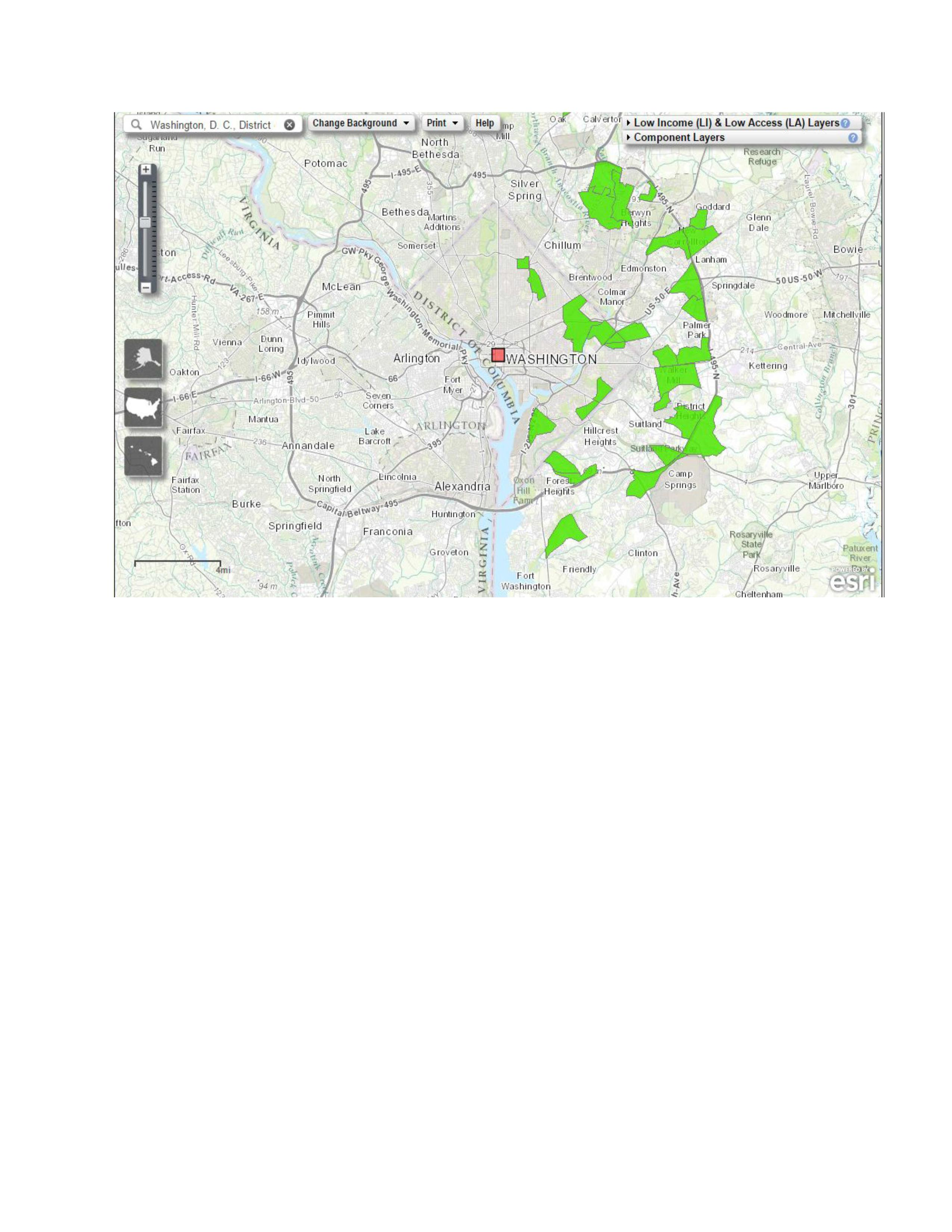 In The Wake Of The Freddie Gray Events Does Senate Bill - Washington dc hubzone map